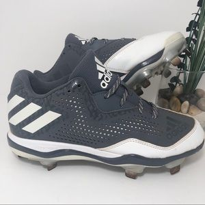 adidas Power Alley Metal Baseball Cleats